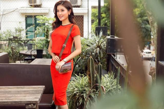 Á hậu Huyền My trở thành nàng thơ trong BST mới của NTK Helene Hoài - Ảnh 2.