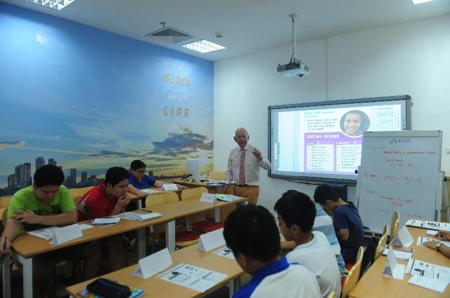 Trang bị kỹ năng sống cho trẻ qua các giờ học tiếng Anh - Ảnh 1.
