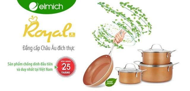 An toàn, tuyệt đẹp, nồi chảo Royal của Elmich – món quà cho mọi bếp Việt - Ảnh 2.