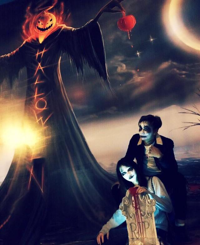 """""""Có hẹn với thây ma"""" – Halloween Party Công viên nước Hồ Tây 2017 - Ảnh 2."""