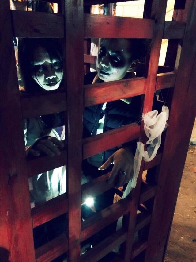 """""""Có hẹn với thây ma"""" – Halloween Party Công viên nước Hồ Tây 2017 - Ảnh 16."""