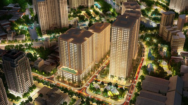 New Horizon City là sự kết hợp hoàn hảo giữa nét truyền thống Á Đông với tư duy kiến trúc hiện đại.