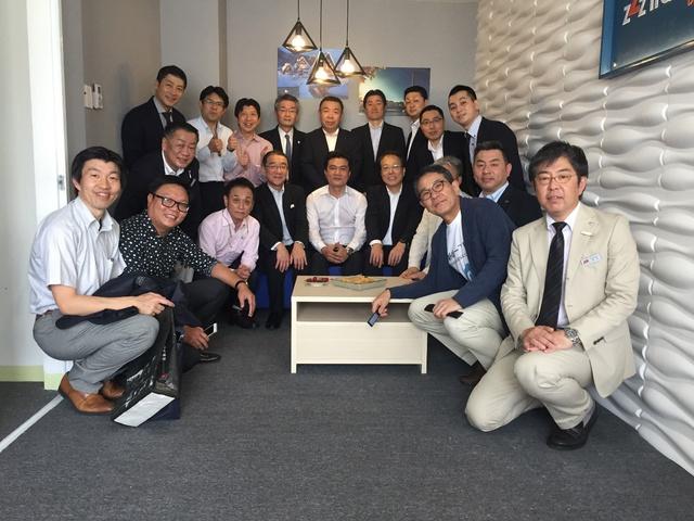 Các đối tác-khách hàng vùng Kanto-Japan đến thăm văn phòng zZzTraveling.