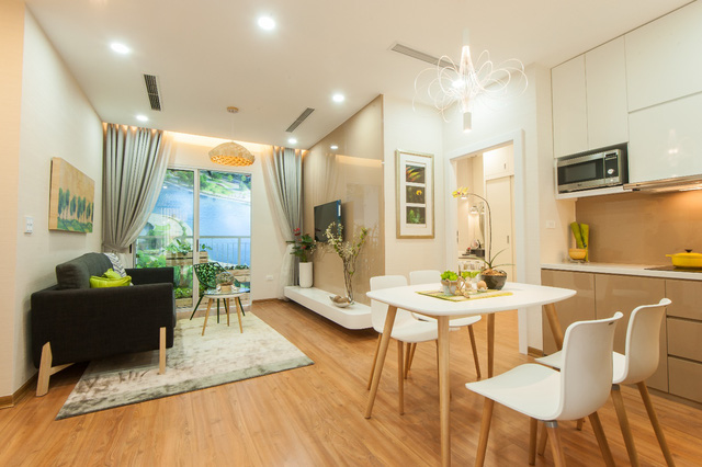 Anland có ưu điểm vượt trội so với các căn hộ khác cùng phân khúc nhờ điều kiện bàn giao hoàn thiện nội thất cao cấp.