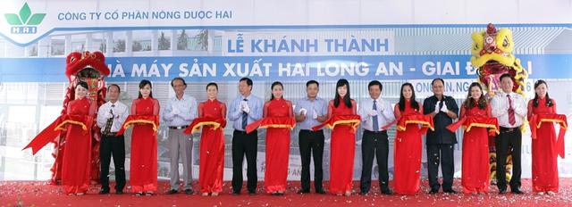 Lễ khánh thành nhà máy HAI Long An.