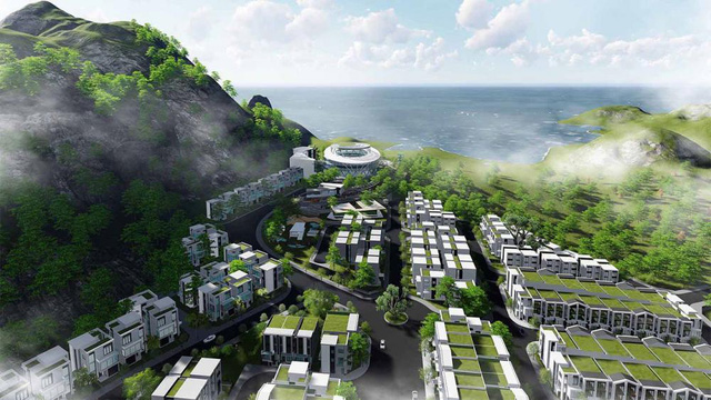Phối cảnh khu dân cư Hoàng Phú Nha Trang.