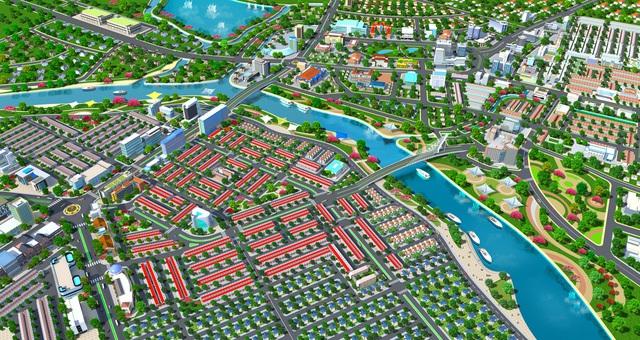 Mega City được đầu tư hạ tầng hiện đại, đầy đủ tiện ích phục vụ mọi nhu cầu của cư dân.