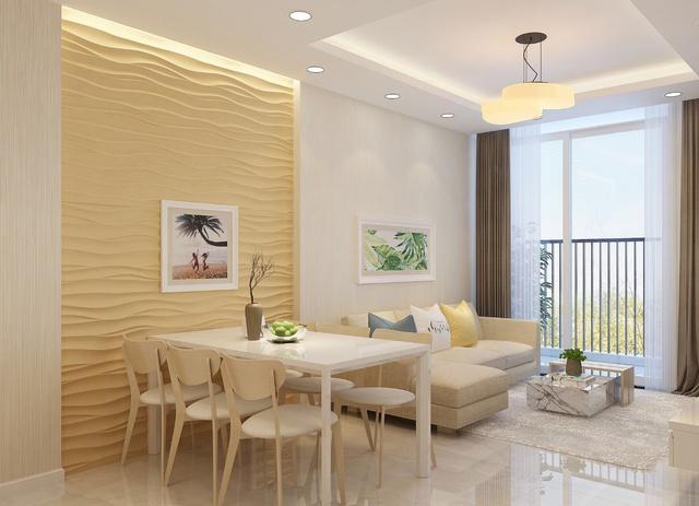 Căn hộ cao cấp từ 50m2 tại khu vực Mỹ Đình có thể cho thuê với mức giá 600USD/tháng.