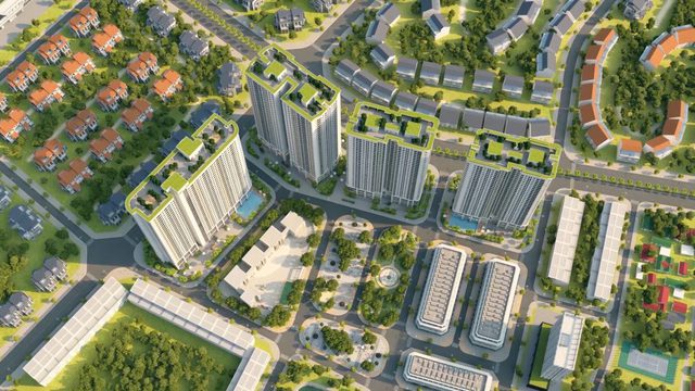 Gelexia Riverside - Dự án trọng điểm của Tập đoàn Geleximco tại quận Hoàng Mai.