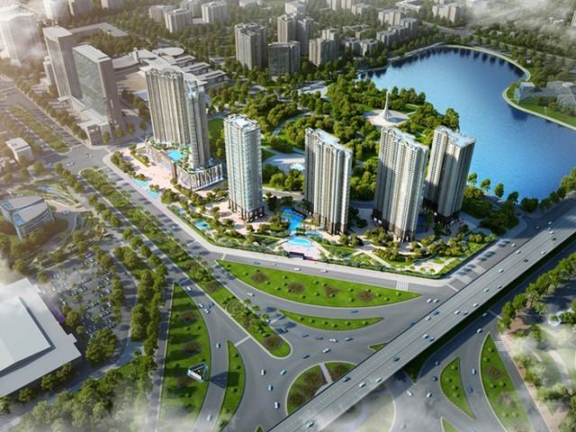 D'.Capitale sở hữu vị trí lý tưởng với 3 mặt tiếp giáp 3 con đường lớn cùng hệ thống tiện ích đa dạng, đồng bộ.