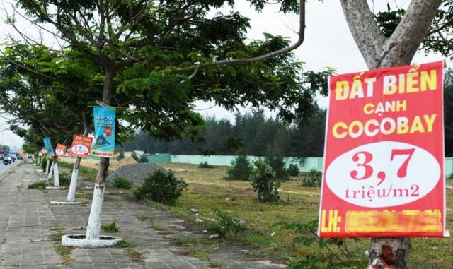 Nhiều dự án đất nền mọc lên quanh Cocobay.