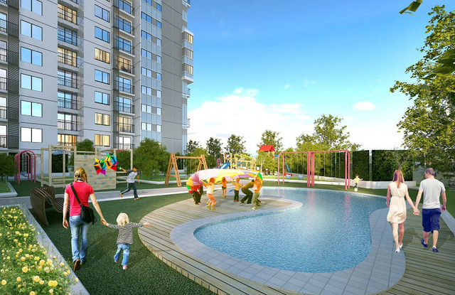 Lựa chọn an cư tại The TWO Residence, cư dân sẽ có được cuộc sống thư thái và hạnh phúc.