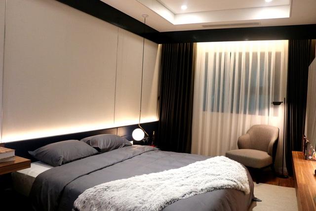 Các phòng ngủ tại Mỹ Đình Plaza 2 được bài trí như những căn hộ khách sạn sang trọng, lịch sự.