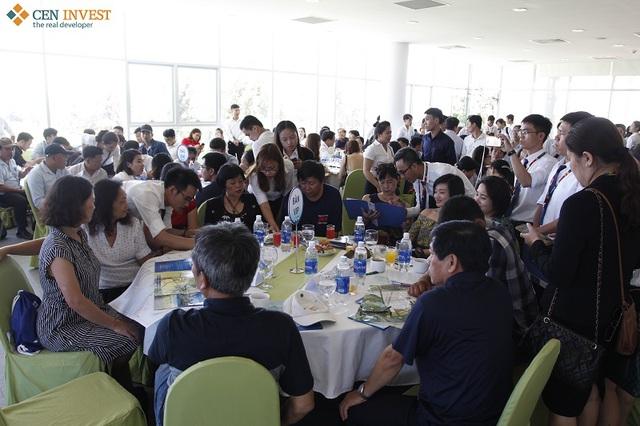 Tất cả các sự kiện giới thiệu của Ngọc Dương Riverside luôn thu hút đông đảo khách hàng.