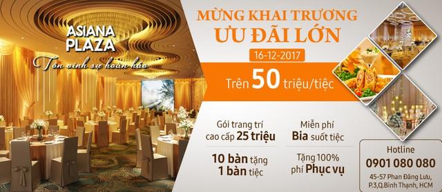 Khai trương Trung tâm Hội nghị 1000 tỷ đầu tiên tại Q.Bình Thạnh - Ảnh 6.