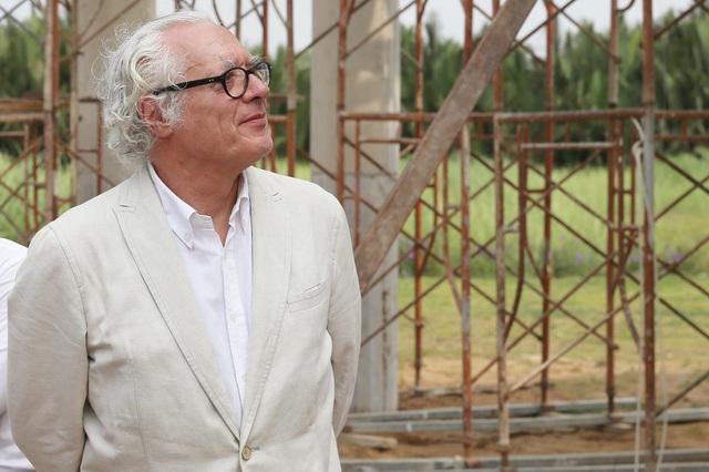 Cựu chủ tịch viện hàn lâm kiến trúc Pháp tham quan khu biệt thự Sol Villas