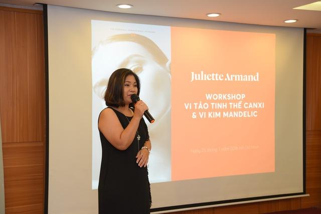 Workshop Juliette Armand tại Tp. HCM: Bật mí cách chăm sóc làn da mụn và nám ngày hè - Ảnh 7.