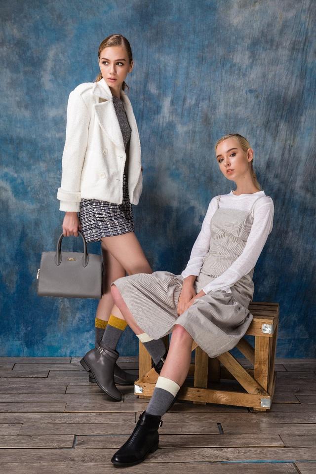 Thời trang Thu Đông: Bí quyết diện boots chất lừ cùng bạn thân - Ảnh 2.
