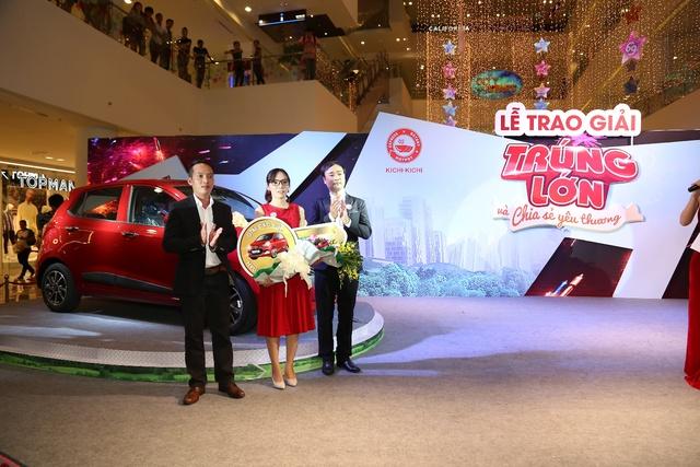 Kichi Kichi chính thức tìm được chủ nhân nhận giải thưởng xe Hyundai grand I10 - Ảnh 1.