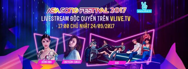 Xem truyền hình trực tiếp Asia Song Festival 2017 ở đâu? - Ảnh 1.