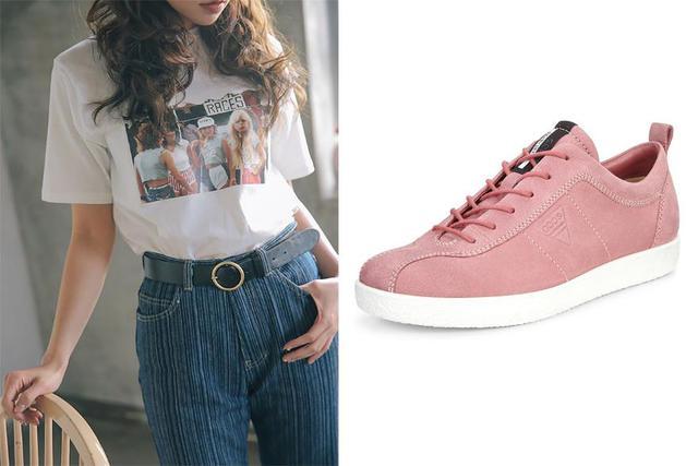 Ecco Soft 1 - Đôi sneaker cho giới trẻ mê phong cách retro - Ảnh 5.