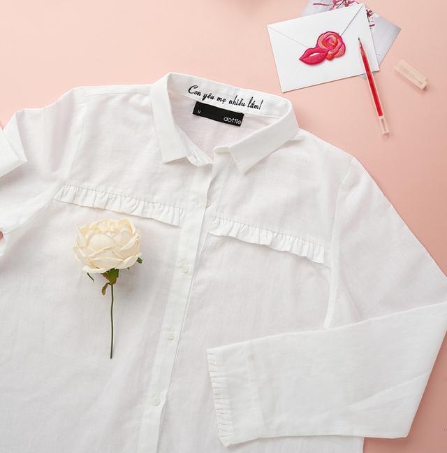 Chiếc áo gây sốt đầu thu - Chemise trắng - Ảnh 11.