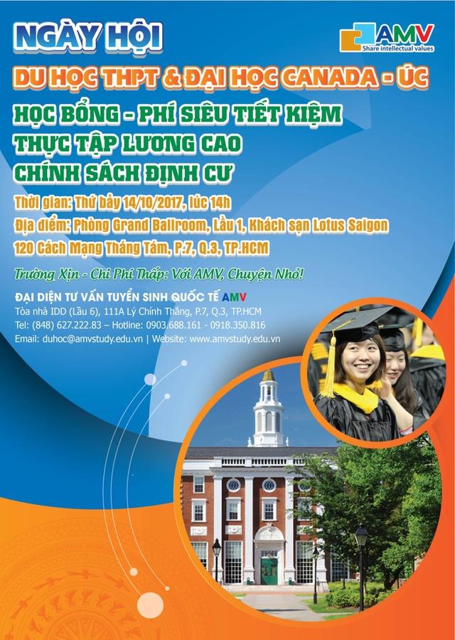 Ngày hội du học THPT và đại học Canada, Úc - Ảnh 4.