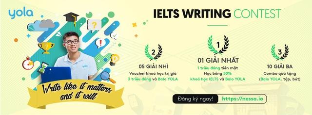 Nessa by YOLA tổ chức cuộc thi viết với tổng giải thưởng cực lớn - Ảnh 1.