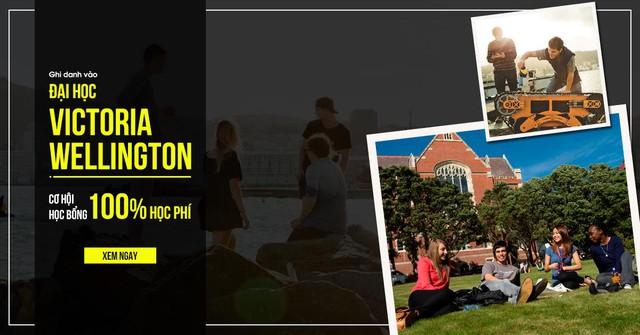 Ghi danh vào Đại học Victoria Wellington và cơ hội học bổng 100% học phí - Ảnh 1.