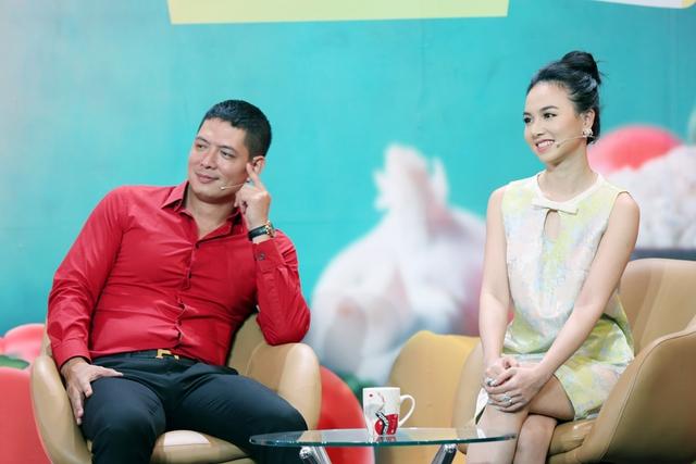 Diễn viên Đinh Ngọc Diệp tiết lộ cách chinh phục khẩu vị Victor Vũ - Ảnh 2.