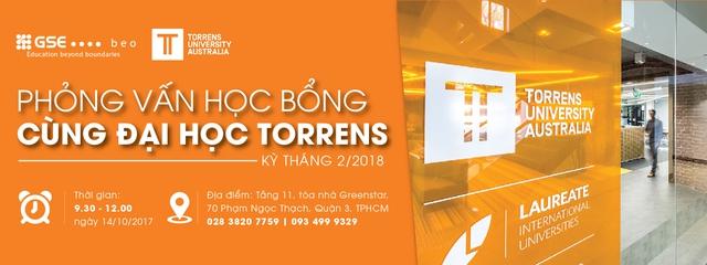 Phỏng vấn học bổng cùng Đại học Torrens, kỳ tháng 2/2018 - Ảnh 3.
