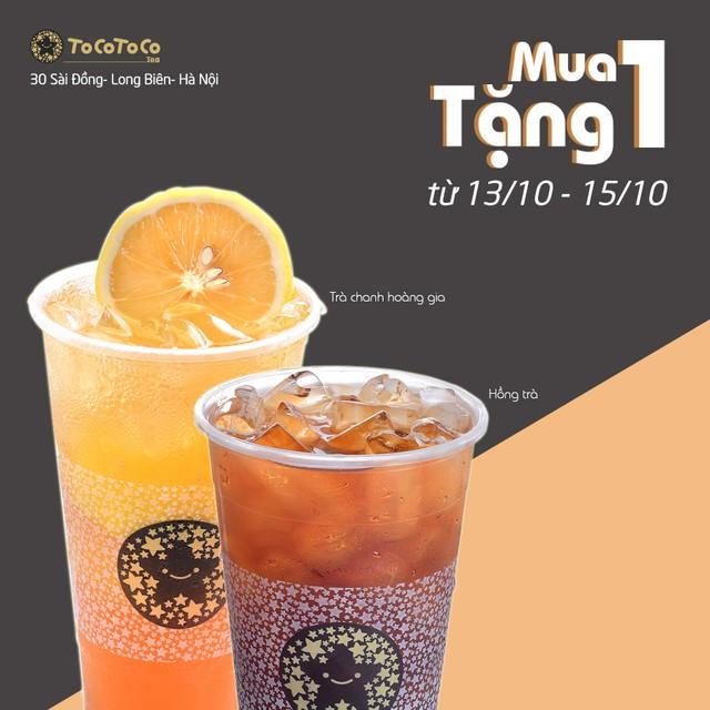 Vì sao dân ghiền trà nhất định phải check in tại TocoToco Sài Đồng (Hà Nội)? - Ảnh 1.