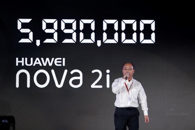 Đặt hàng Huawei nova 2i tại Thế giới Di động, nhận bộ quà tặng siêu chất - Ảnh 1.