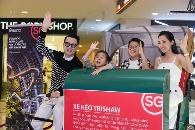 Hoàng Bách làm đại sứ chiến dịch quảng bá du lịch Singapore - Ảnh 1.