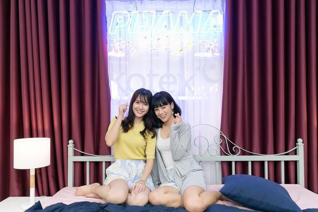 """Hoàng Yến Chibi, Jang Mi khoe giọng hát live trong """"Pijama Party"""" - Ảnh 1."""