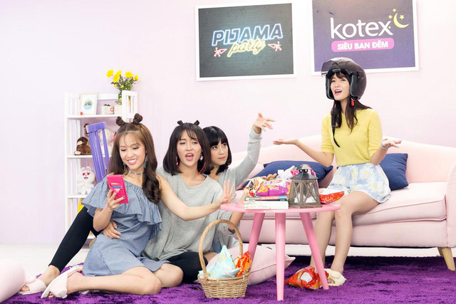 """Hoàng Yến Chibi, Jang Mi khoe giọng hát live trong """"Pijama Party"""" - Ảnh 2."""