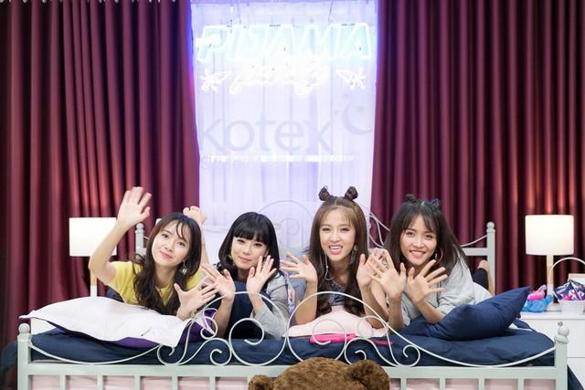 """Hoàng Yến Chibi, Jang Mi khoe giọng hát live trong """"Pijama Party"""" - Ảnh 5."""