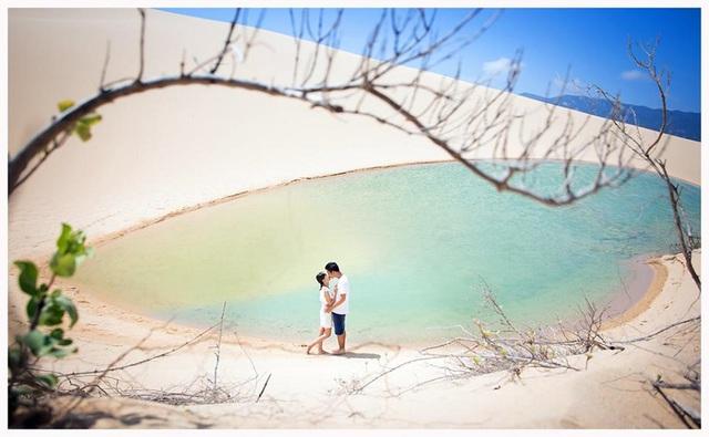 """Lạc lối ở """"tiểu sa mạc"""", vẫy vùng ở vịnh biển giấu mình tại Ninh Thuận - Ảnh 8."""