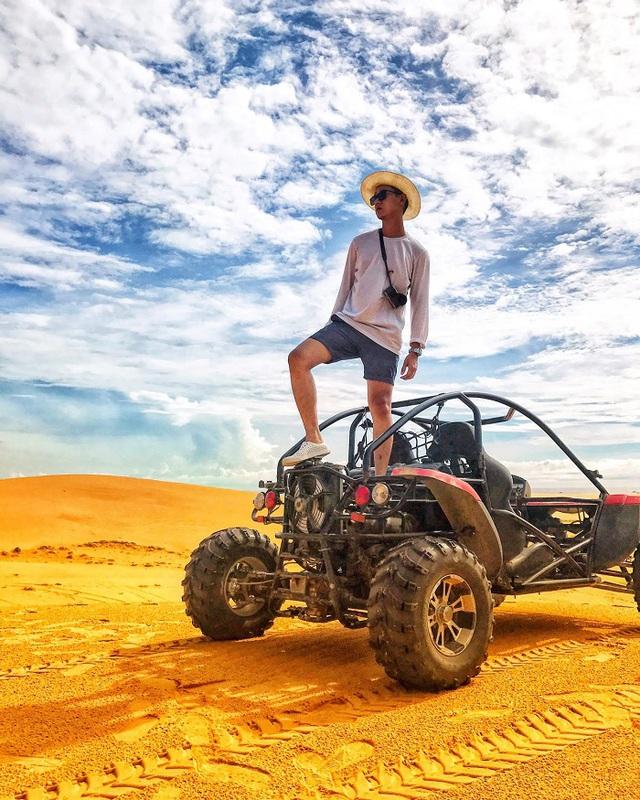 """Lạc lối ở """"tiểu sa mạc"""", vẫy vùng ở vịnh biển giấu mình tại Ninh Thuận - Ảnh 11."""