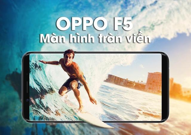 Những lý do để OPPO F5 khiến bạn phải rút hầu bao ngay tại Thế Giới Di Động - Ảnh 1.