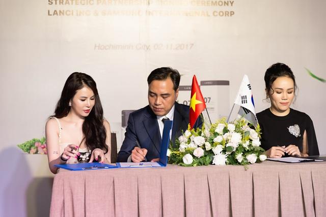 Ra mắt thương hiệu mỹ phẩm cao cấp Hàn Quốc Lanci tại Việt Nam - Ảnh 1.