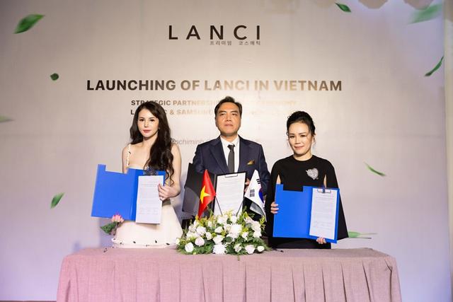 Ra mắt thương hiệu mỹ phẩm cao cấp Hàn Quốc Lanci tại Việt Nam - Ảnh 2.
