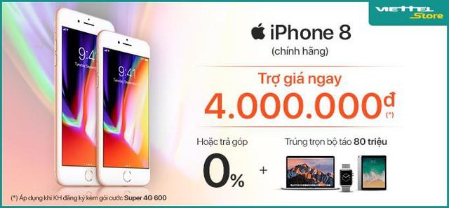 Sở hữu iPhone 8 chỉ với 16.990.000đ, cơ hội trúng trọn bộ Apple trị giá 80.000.000đ - Ảnh 3.