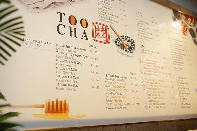 Khám phá thực đơn độc đáo của trà sữa Too Cha - Ảnh 2.