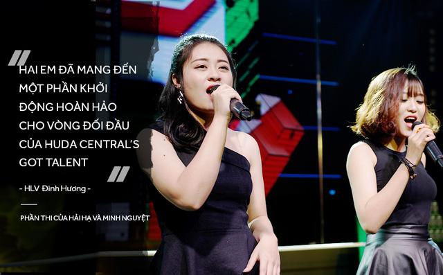 Đinh Hương và Trúc Nhân bất ngờ trước tài năng của học trò trong vòng Đối Đầu - Ảnh 5.