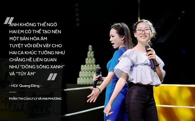 Đinh Hương và Trúc Nhân bất ngờ trước tài năng của học trò trong vòng Đối Đầu - Ảnh 6.