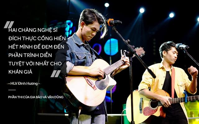 Đinh Hương và Trúc Nhân bất ngờ trước tài năng của học trò trong vòng Đối Đầu - Ảnh 9.