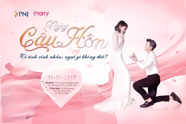 Ngày cầu hôn 11/11 - Sự kiện đặc biệt cho các cặp đôi - Ảnh 1.