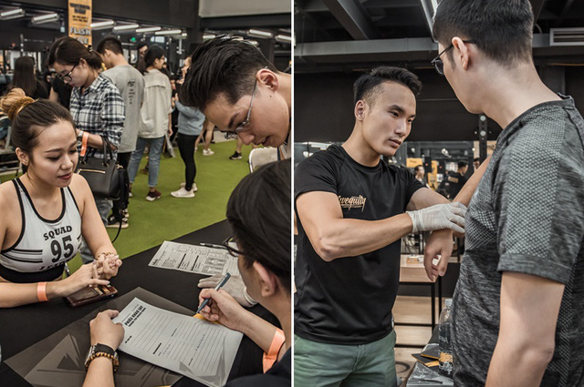 Tùng Sơn, Trang Lou, Ba Duy thử sức với chương trình tập gym chuẩn quốc tế - Ảnh 6.