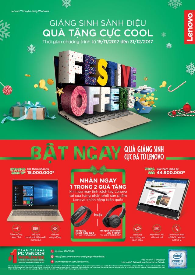 Đón Giáng sinh với đồ chơi công nghệ cực đã từ Lenovo - Ảnh 1.